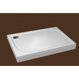 SPN rectangle shower tray P710K 800x1000 with panel and legs