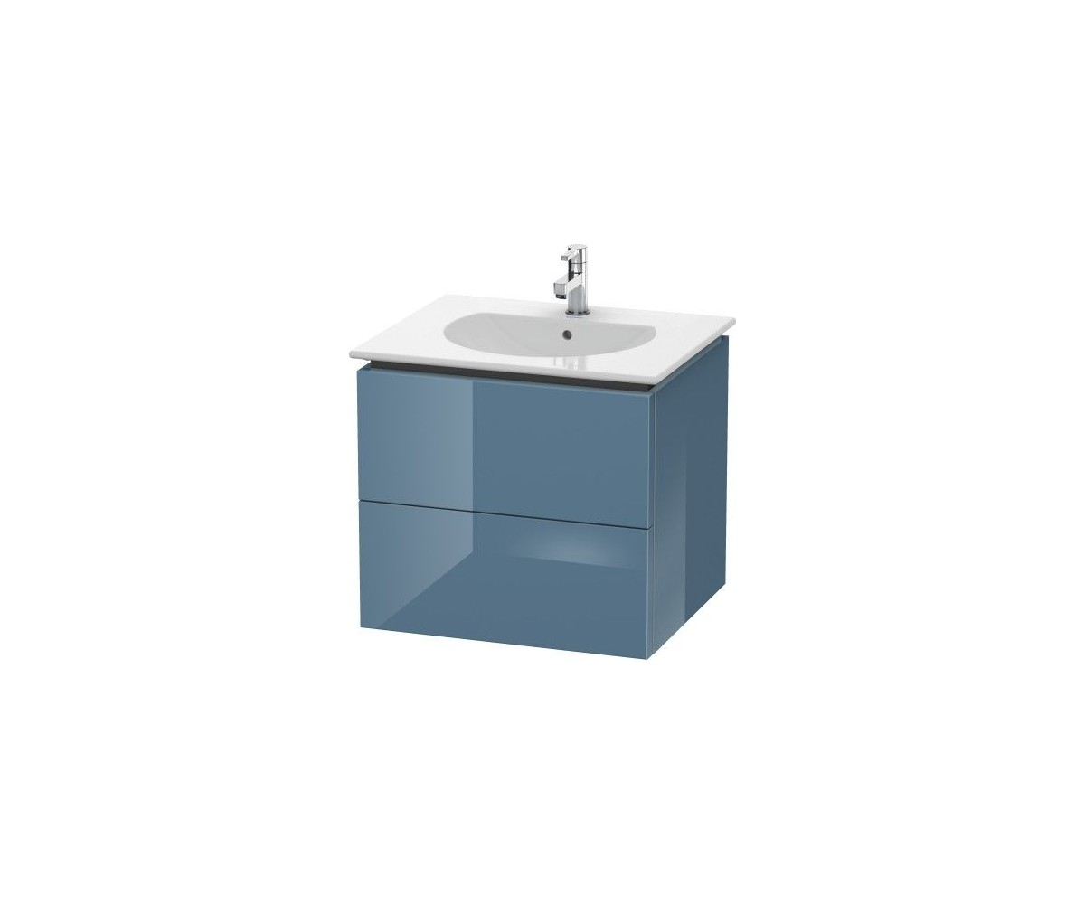 Duravit Delos wall mounted bathroom vanity unit DL6331 600 x 516 mm
