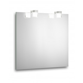 4880 80 Mirror with lighting, 80cm