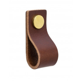 Gustavsberg rokturis Knob K3 Brown/Brass