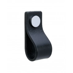 Gustavsberg rokturis Knob K3 Black/Chrome