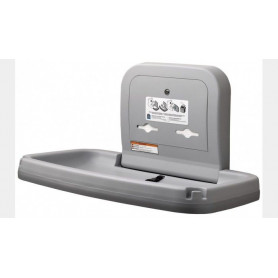 Bobrick KB200-01-INB baby changing table, gray