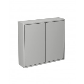 Graphic Wall cabinet grey/plain 60x16 cm