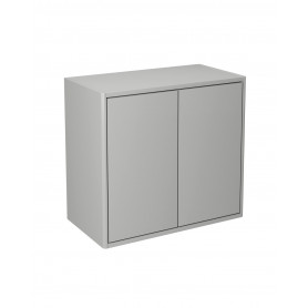 Graphic Wall cabinet grey/plain 60x32 cm