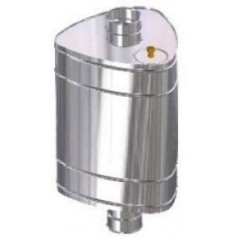 Uralmet Water tank Ural 50l (G3/4) 115, 0.8mm