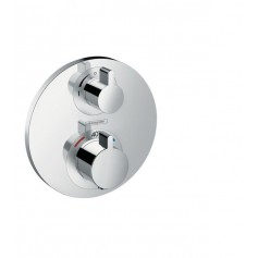 Hansgrohe Ecostat S thermostat mixer, concealed, 2 outlets, 15758000