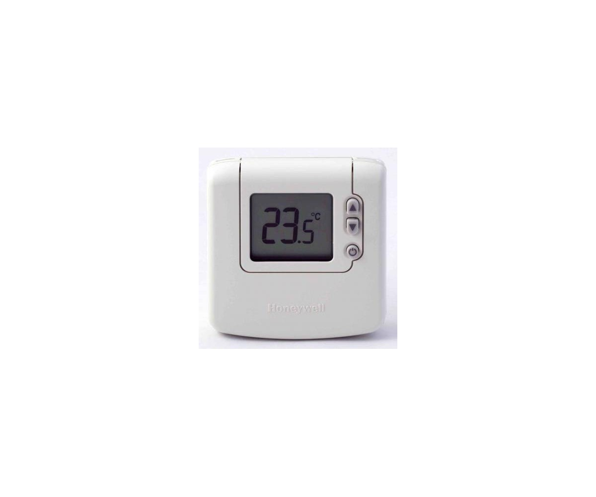 honeywell room thermostat digital dt90a 5 35c 2xaa 220v. Black Bedroom Furniture Sets. Home Design Ideas