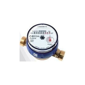 Water counter B-Meter 1/2, Qn1,5m³/h, 110 90°C, for apartment use