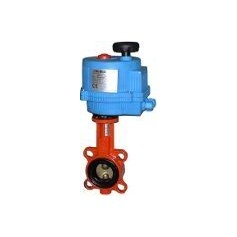 Industrial half turn valve ABO Dn80 with electric motor