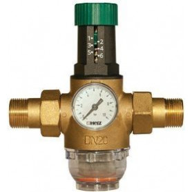 Herz Pressure reducer with filter 3/4MM