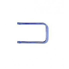 """Rosela hot water system towel dryer, P-type, 3/4"""", DN20, 250mm, with perpendicular connection"""