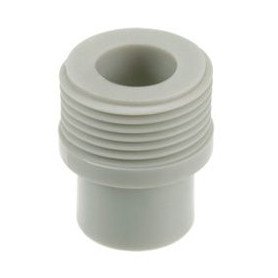 Melting PPR transition with outer thread D20x3/4, gray