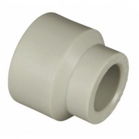 Melting PPR sleeve, reduced D40x25, gray