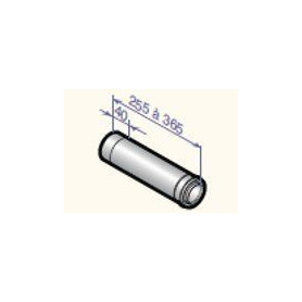 DeDietrich stovepipe compensating sleeve D80/125, DY130