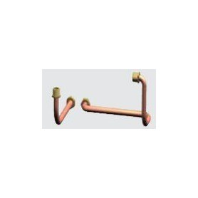 DeDietrich heating boiler AGC connection with outer 3way valve, JA7