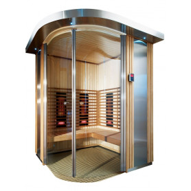 Harvia Rondium complete infrared sauna 1950x1500mm