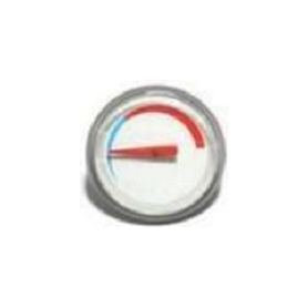 LEOV thermometer for vertical and horizontal water heaters