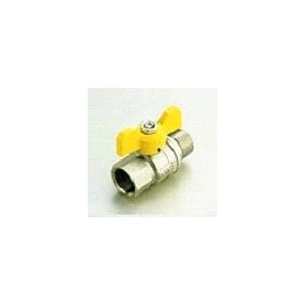 """Tiemme Ball valve for gas MF 1/2"""", butterfly"""