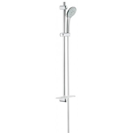 Grohe Euphoria 110 Champagne Shower Rail 900 W Soap Dish