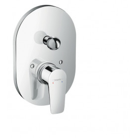 Hansgrohe Talis E bath mixer conc.chrome Export