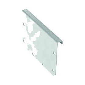 ACO modular box channel 125, end plate H80 , 1.4404