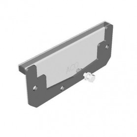 ACO modular box channel 125,end plate E80, , 1.4301