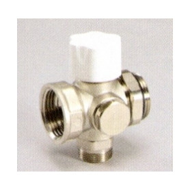 Luxor thermostatic valve block 1-M(24x19) for 1 loop