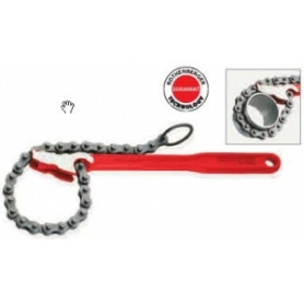 Rothenberger plumbing pipe wrench with chain 4 R/L