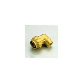 """Tiemme brass compression elbow with outer thread D25x3/4"""""""
