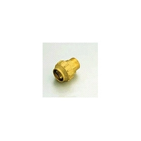 Tiemme brass compression transition with outer thread D40x1 1/4 M PN30, long
