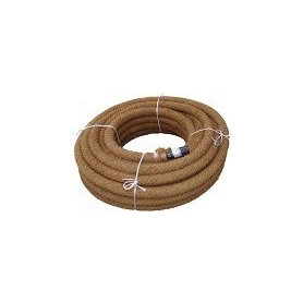 Pipelife PVC drainage pipe 58/50 with coconut filter 50m