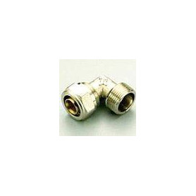 PE-X compression elbow 16x1/2 M for multilayer pipe