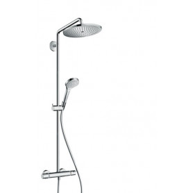 hansgrohe croma select s 280 showerpipe shower system chrome 26790000. Black Bedroom Furniture Sets. Home Design Ideas