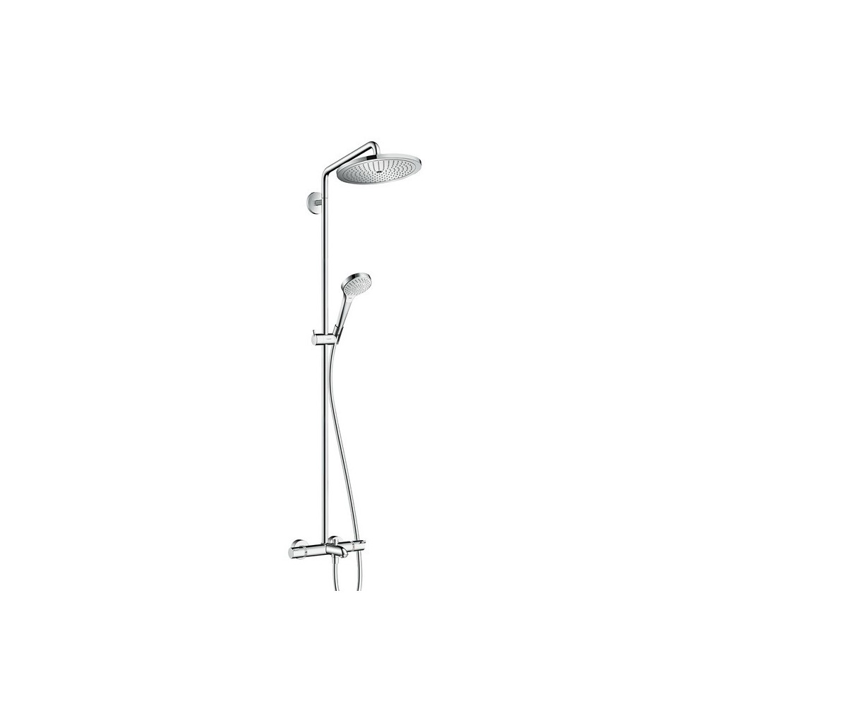 Hansgrohe Croma Select S 280 Thermostat Bath Shower System Chrome 26792000