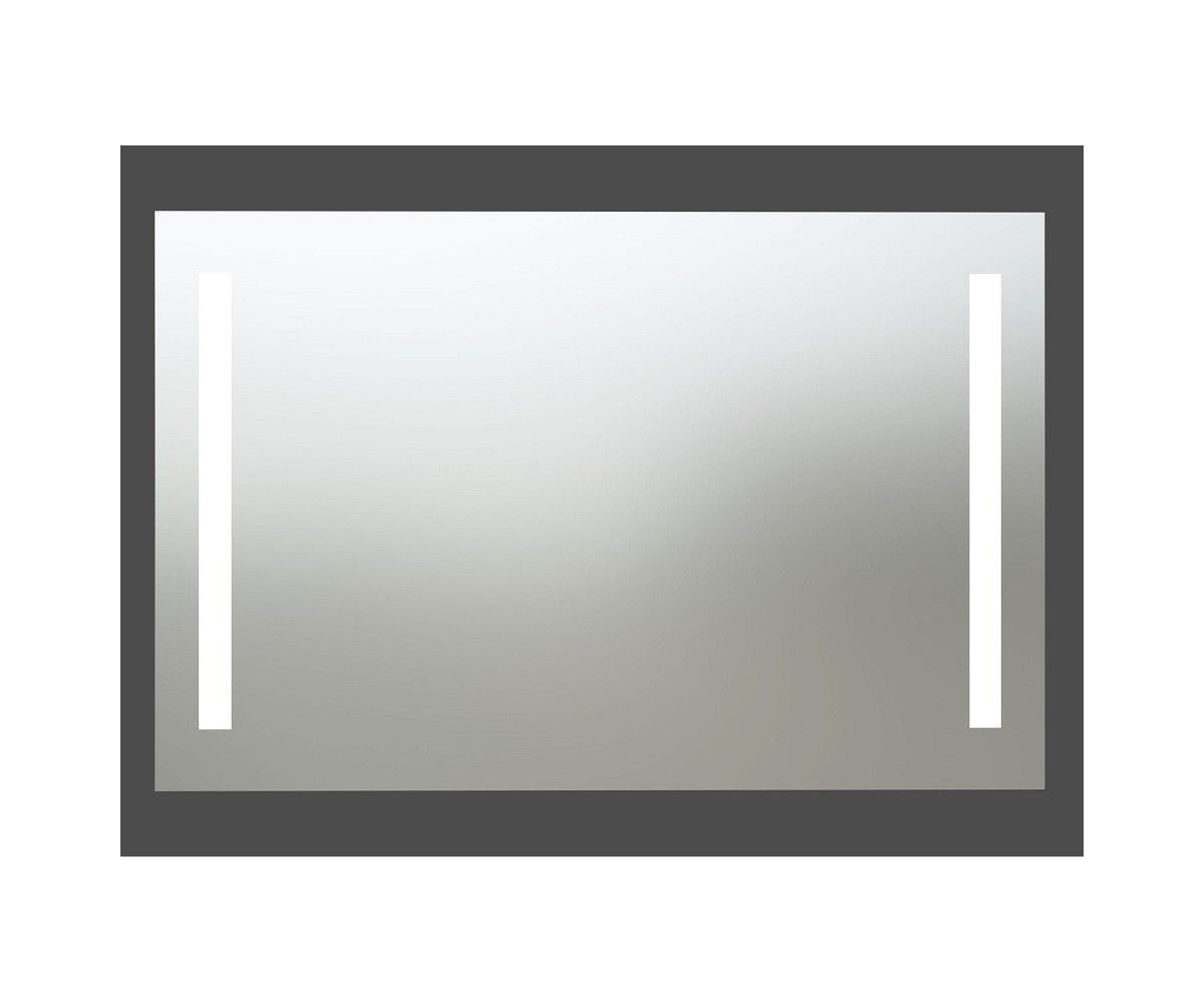 mirror with integrated lighting. Kame Bathroom Mirror With Integrated LED Lighting And Movement Sensor 80cm R