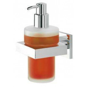 Tiger Items liquid soap dispenser, brushed stainless steel