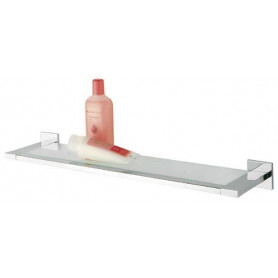 Tiger Items shelf, brushed stainless steel