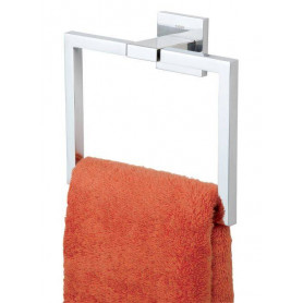Tiger Items towel ring, brushed stainless steel