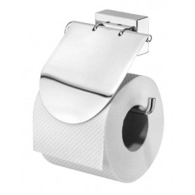 Tiger Fiugeras toilet paper holder with cover, chrome