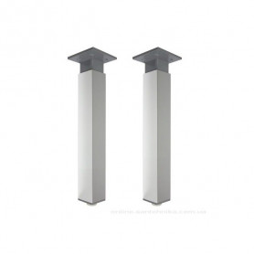 Jika Cube kajas skapītim, chrome, 1 pair, 240 mm 4.9440.2.176.000.1