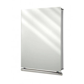 Tiger Boston mirror cabinet 30x40 cm, polished stainless steel