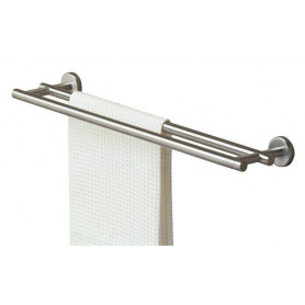 Tiger Boston towel rail, polished stainless steel