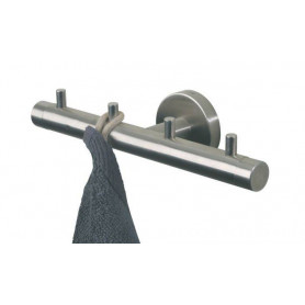 Tiger Boston hook rail, polished stainless steel
