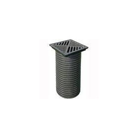 ACO plastic rainwater infiltration hatch with cast iron grille