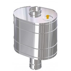 Uralmet Water tank 43l (G3/4) 115, 0.8mm