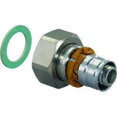 Uponor Unipipe coupling with swivel nut 20x1/2 1015283