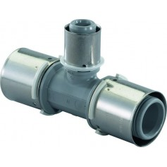 Uponor Unipipe T-piece reduced 20x16x16 PPSU 1022723