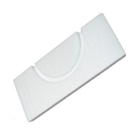 Capricorn elbow insulating plate, for 16mm heated floor pipe, 180deg