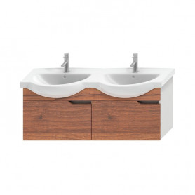 Jika Mio bathroom vanity unit 130 cm, with 2 drawers 4.3416.1.171.506.1