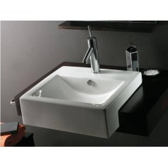 Bathco washbasin Milan Semi-recessed 0045 510x455x160mm
